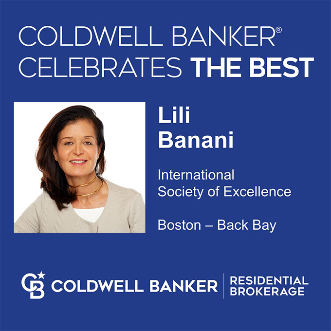Lili Banani - Coldwell Banker 2019 International Society of Excellence